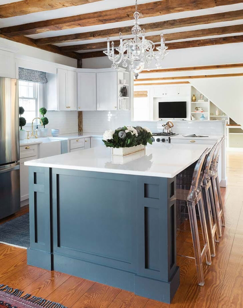 It's so fulfilling to see a gorgeous kitchen like this.