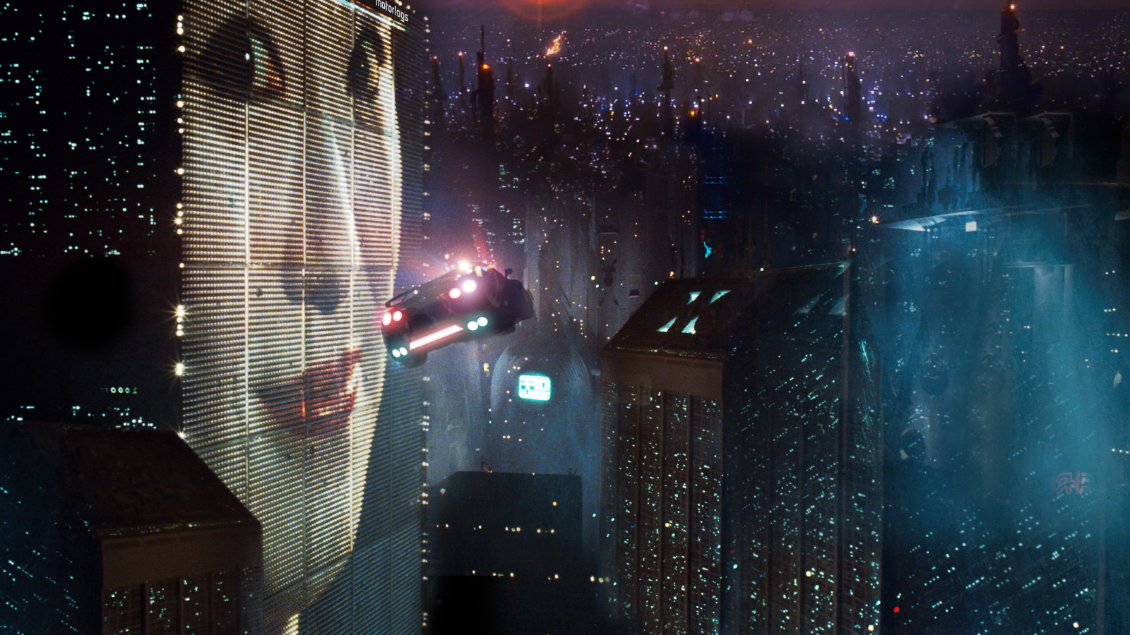 Blade Runner might not be your usual Halloween pick, but it's undeniably creepy.