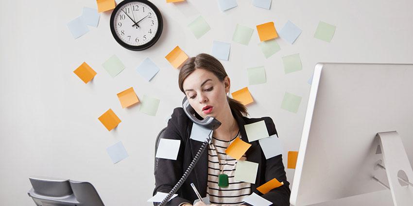 Don't multitask - 7 ways to get organized