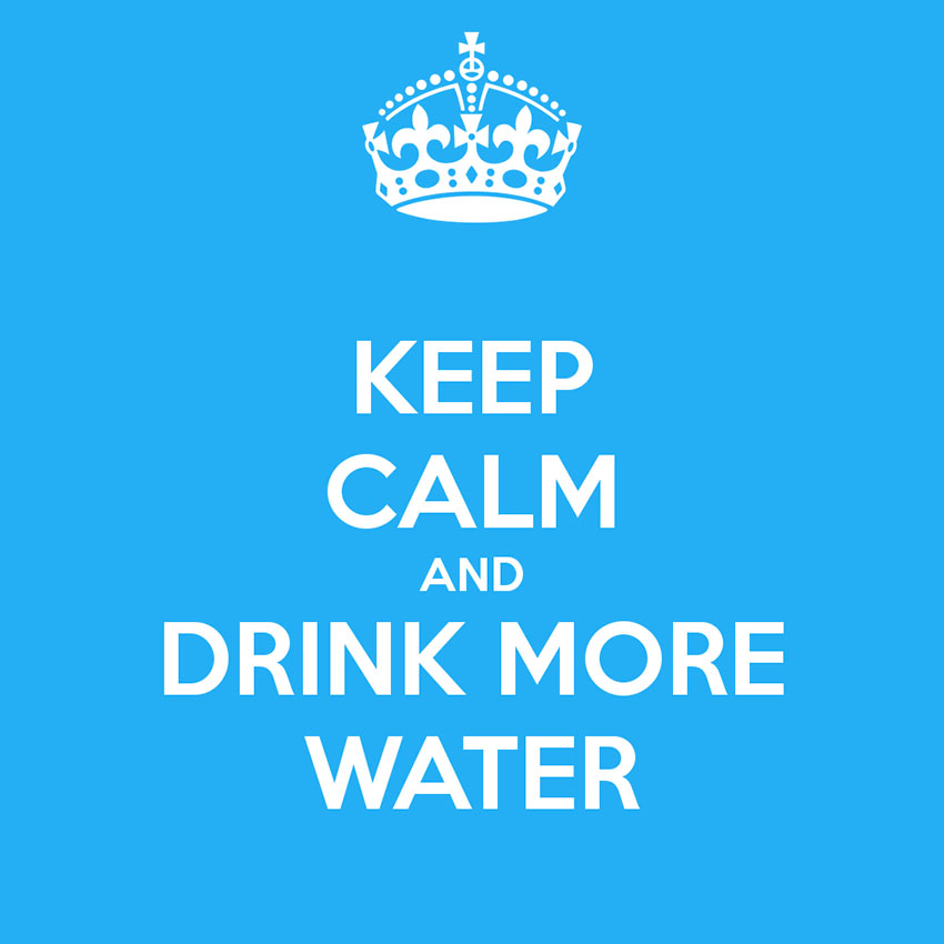 Drink more water - Simple New Year Goals We All Need
