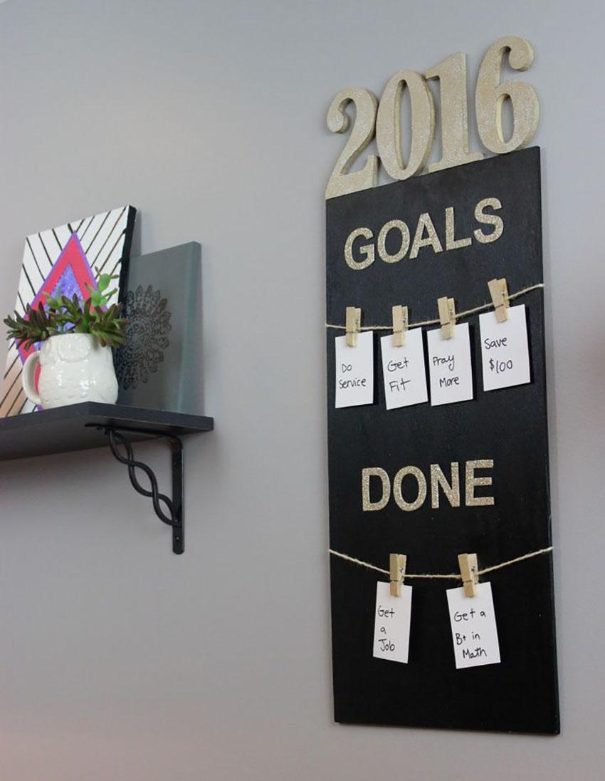 Goals for 2017 - Inspiration board
