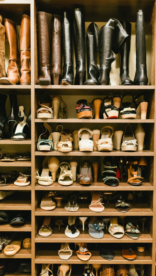 Organization in the home: Flip the pairs for better space management
