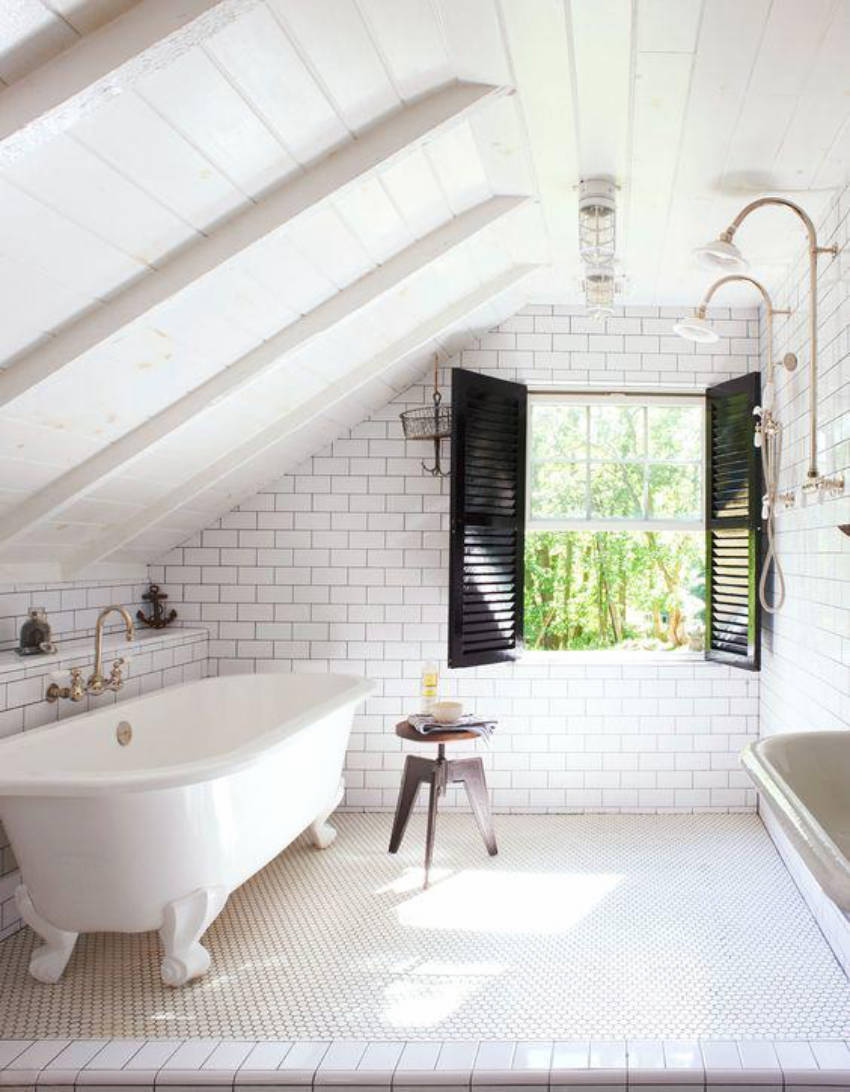 The attic can even become a master bedroom!