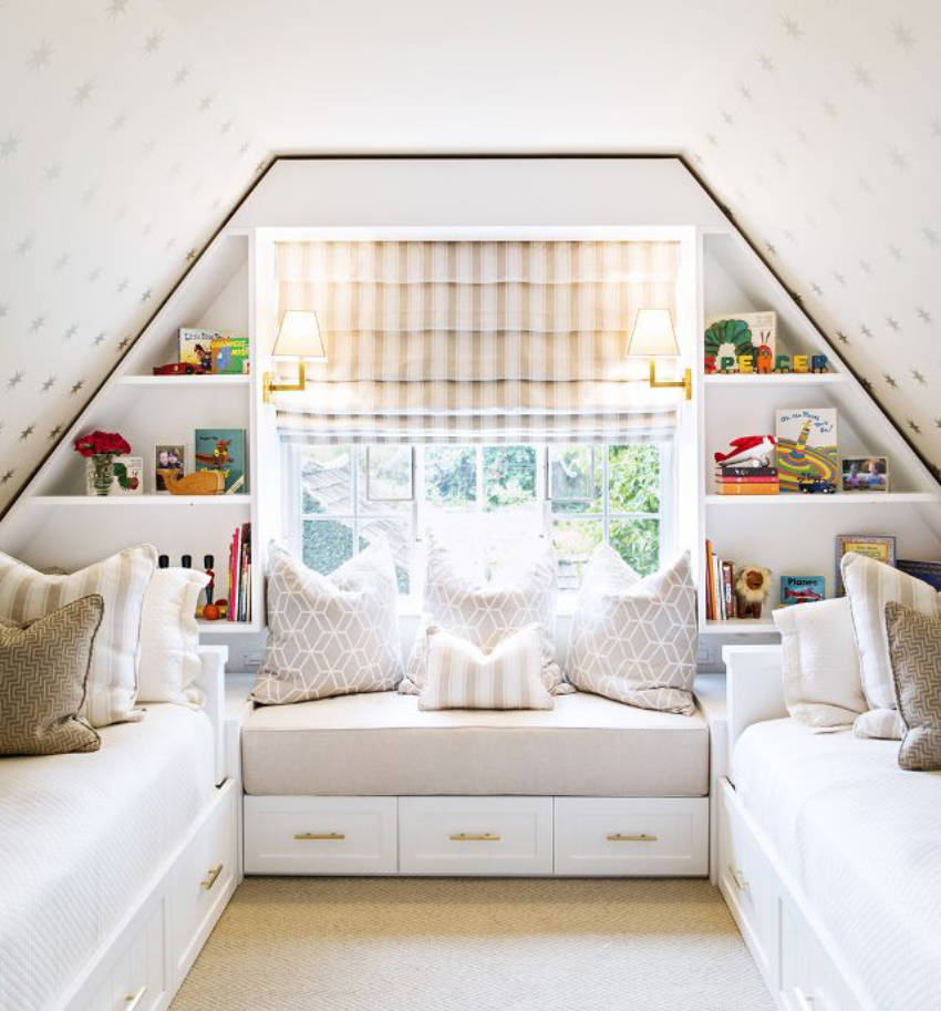 An attic makeover can give you an extra room in the house.