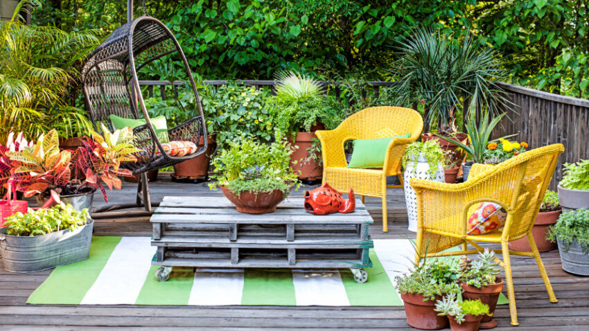 You can have a beautiful outdoor space with the right planning.