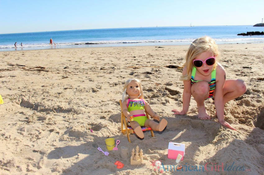 Be prepared to make your kids enjoy the day at the beach.
