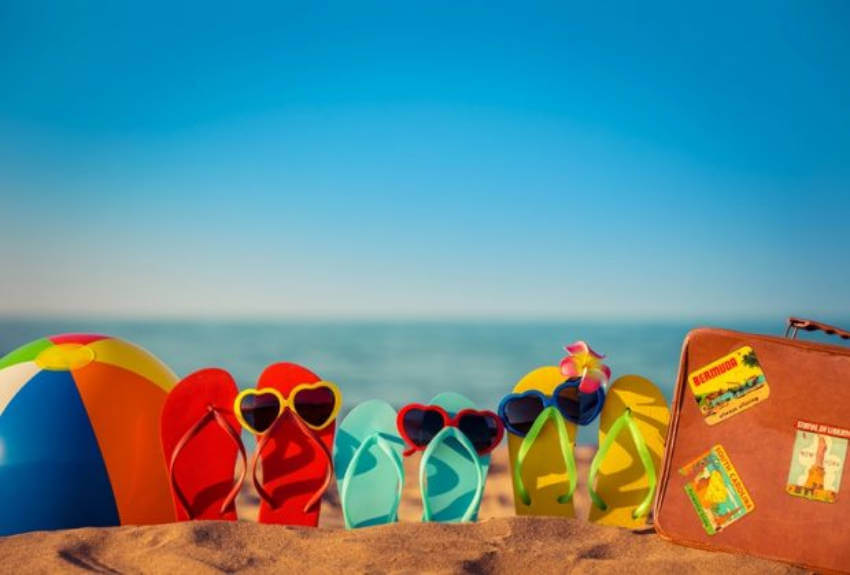 Make a list to remember what you need to bring to the beach.