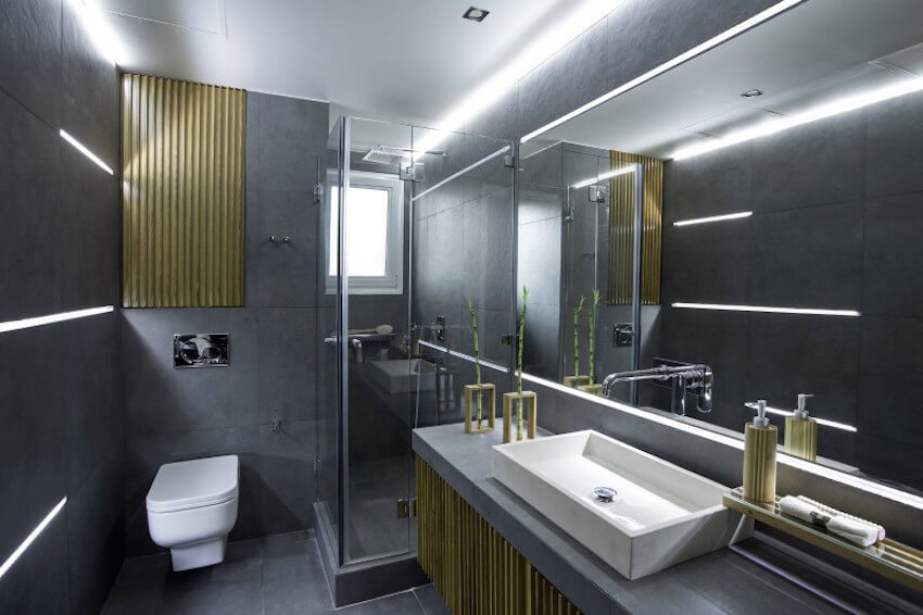 Sleek modern bathroom design for your home