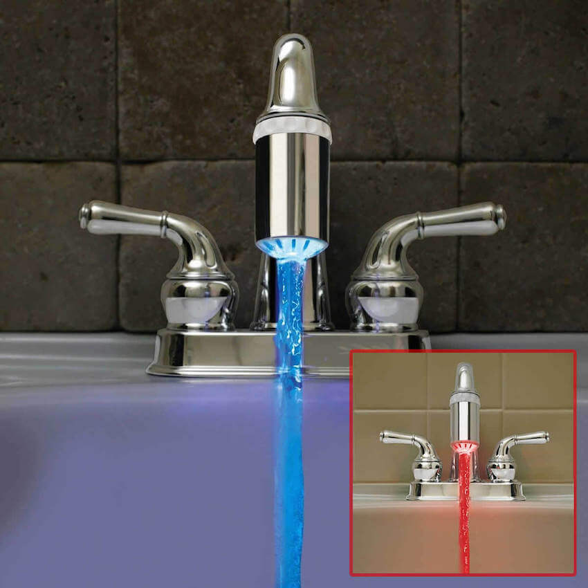 Incredible light up faucet for your bathroom