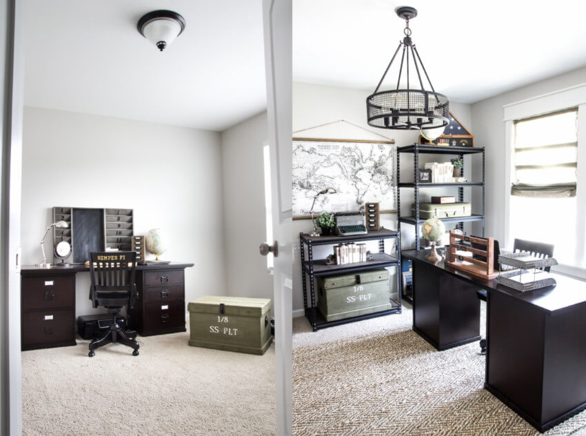 The perfectly productive home office!