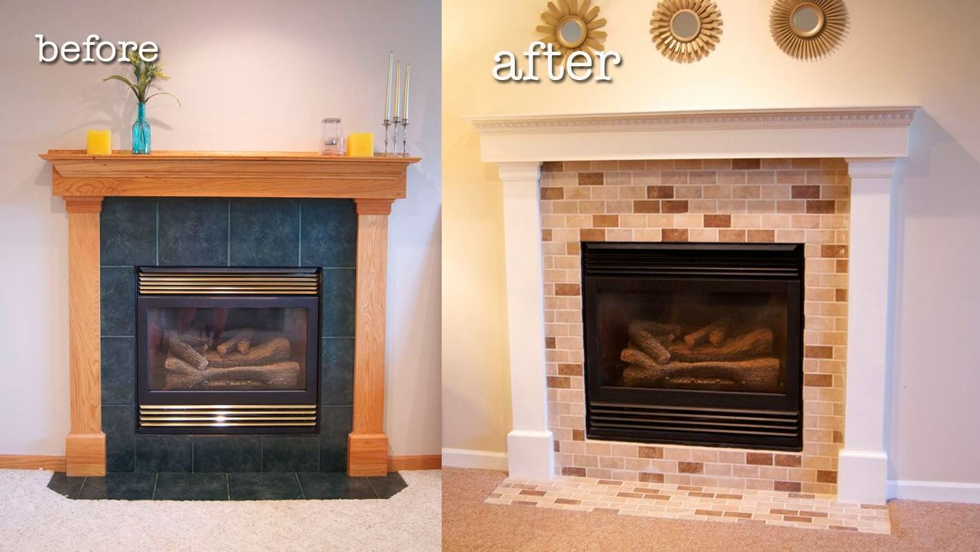 Switching out the tiles can make a big difference.
