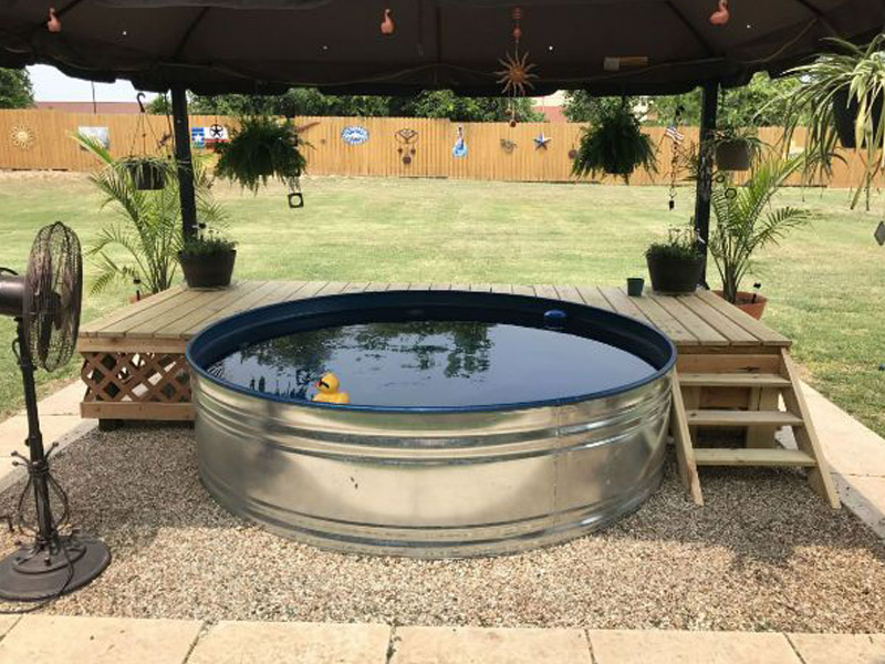 5 Benefits of Stock-Tank Pools