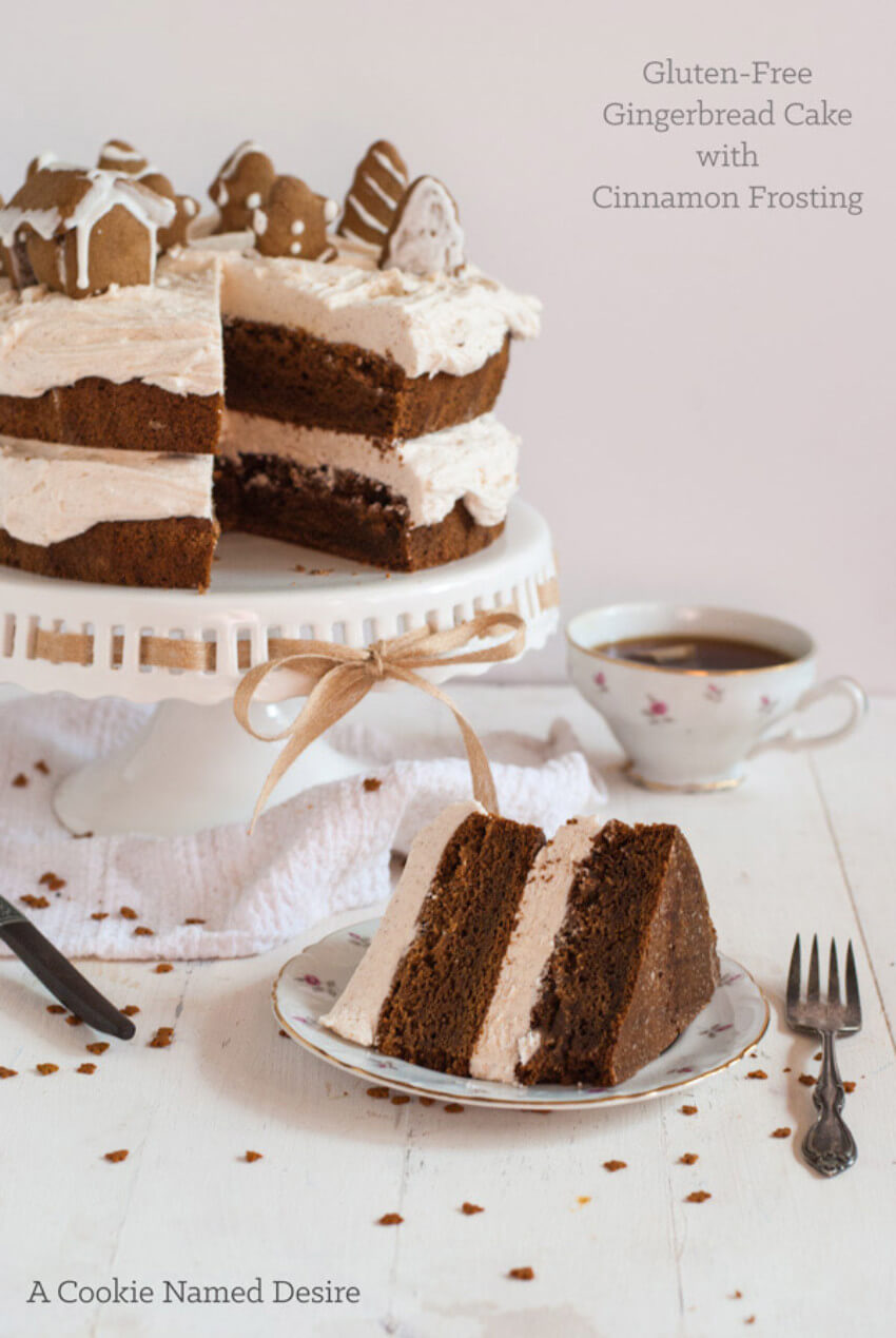 This gingerbread cake recipe is one of the best!