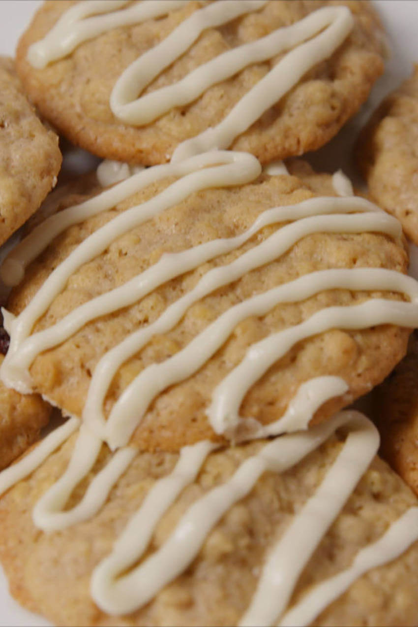 Even though it's in a cookie, oatmeal is still a healthy option!
