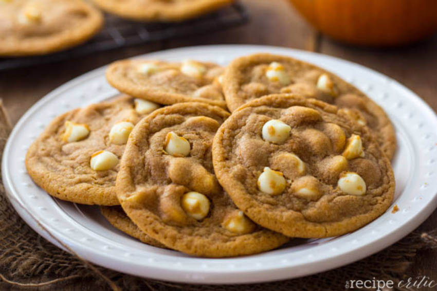White chocolate gives a different mix to the classic pumpkin taste of fall!