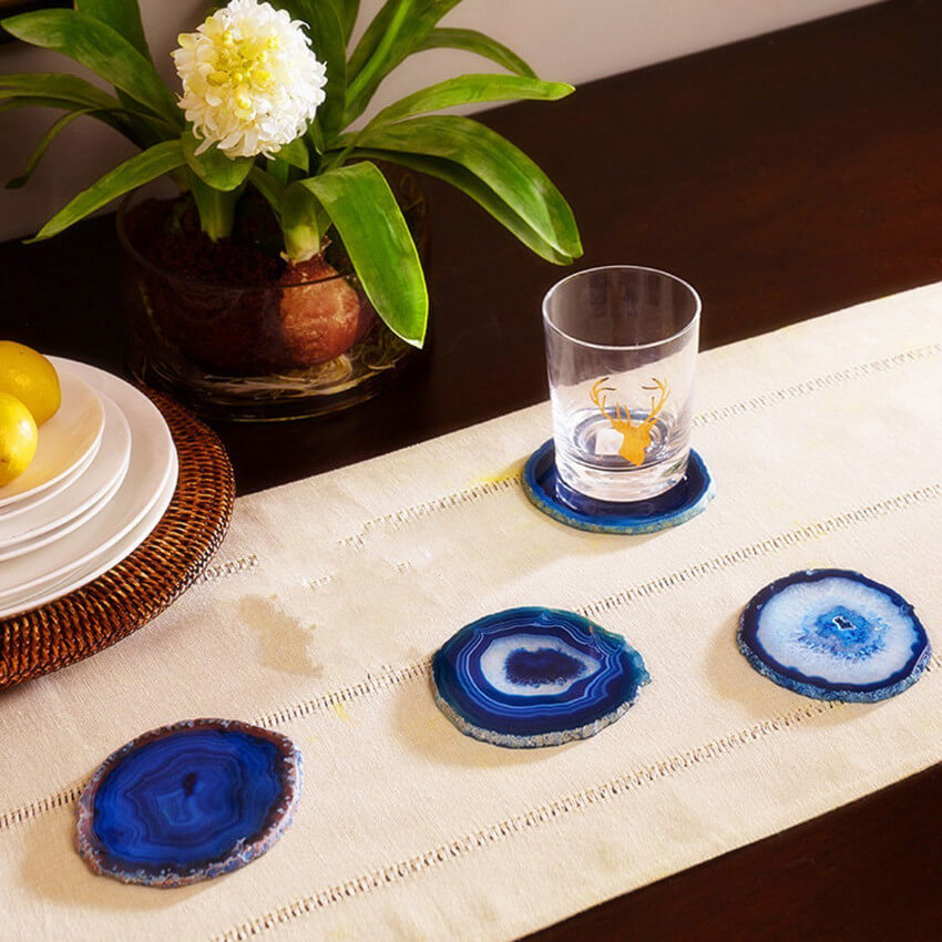 These gorgeous coasters will avoid stains and save your friend some cleaning time, which is the greatest gift