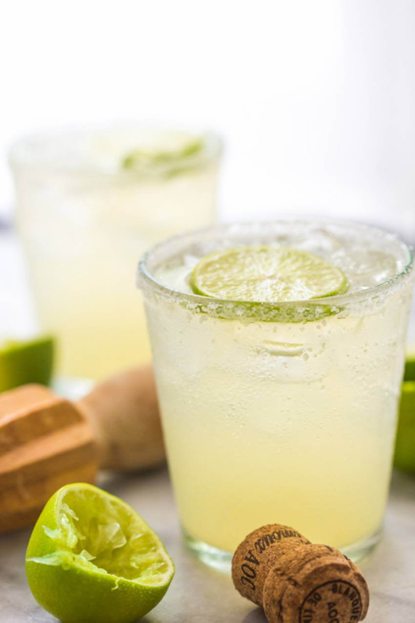 Champagne margarita is the perfectly balanced drink you're craving.
