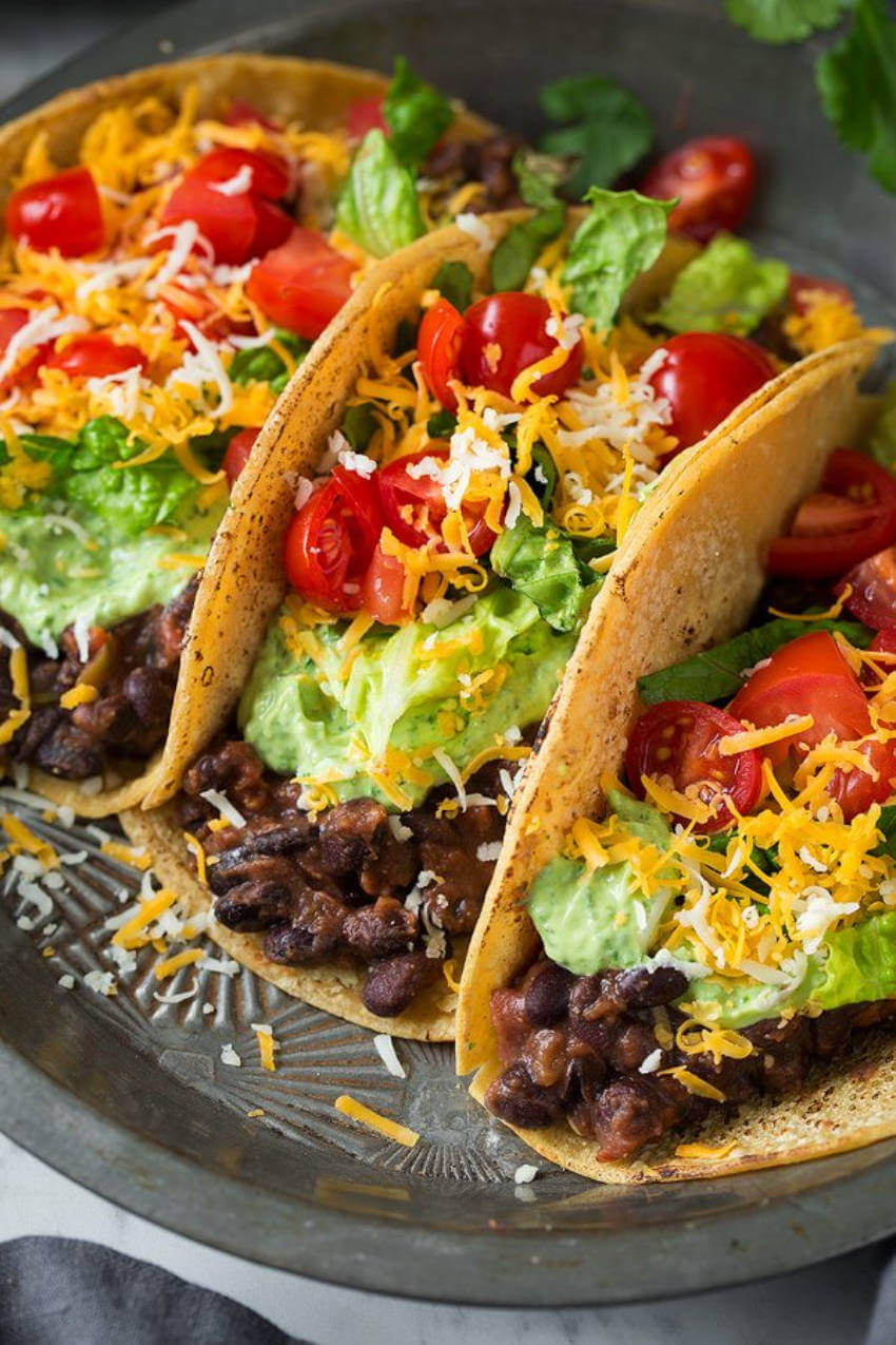 This recipe proves black bean tacos are not boring