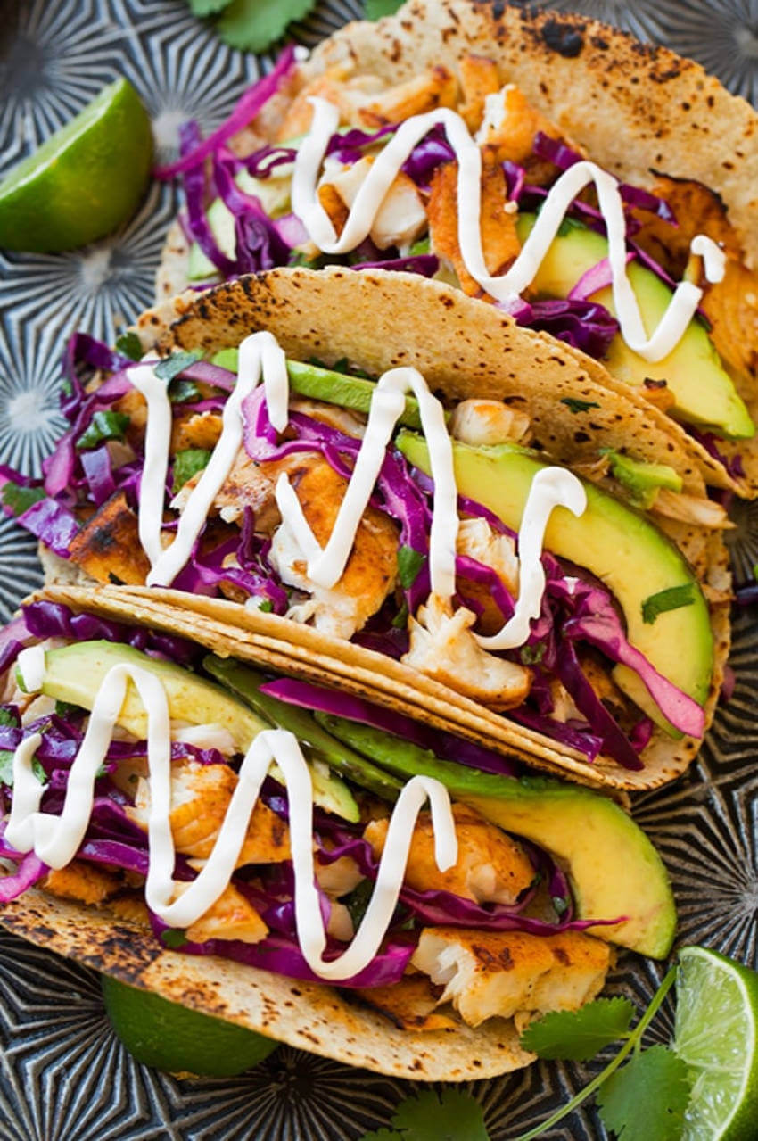 These tacos made your mouth water, didn't they?