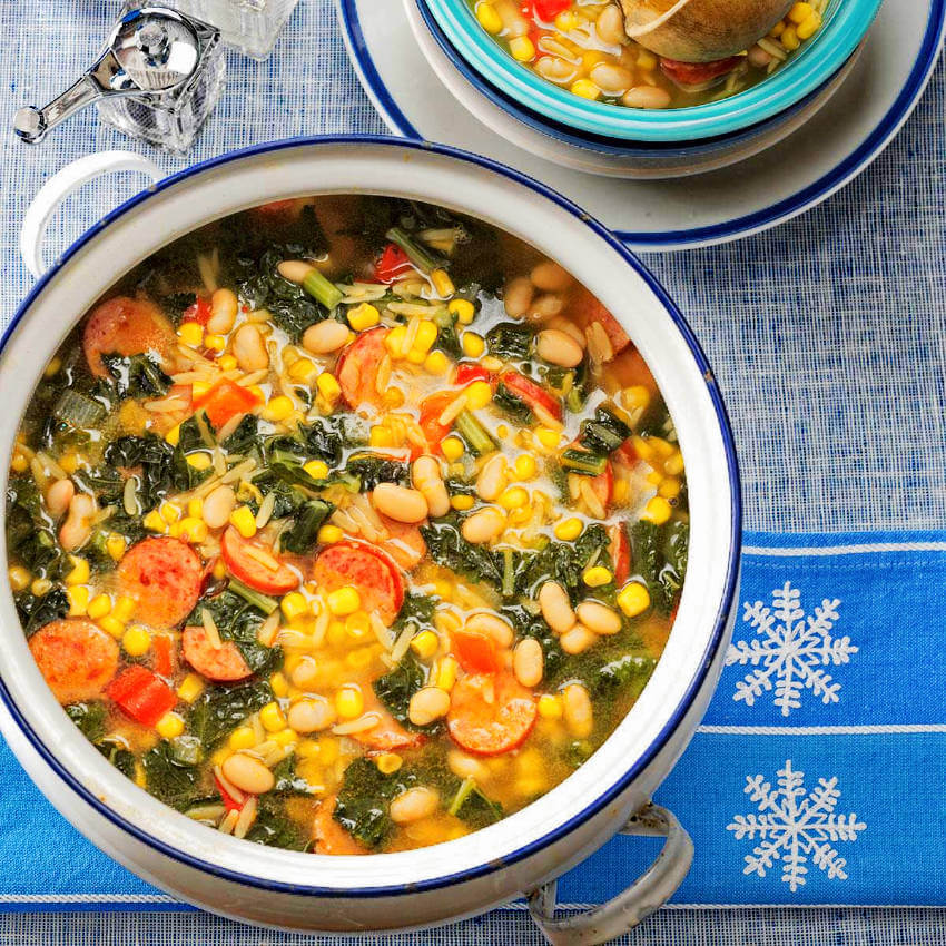 The whole family will love this winter country soup!