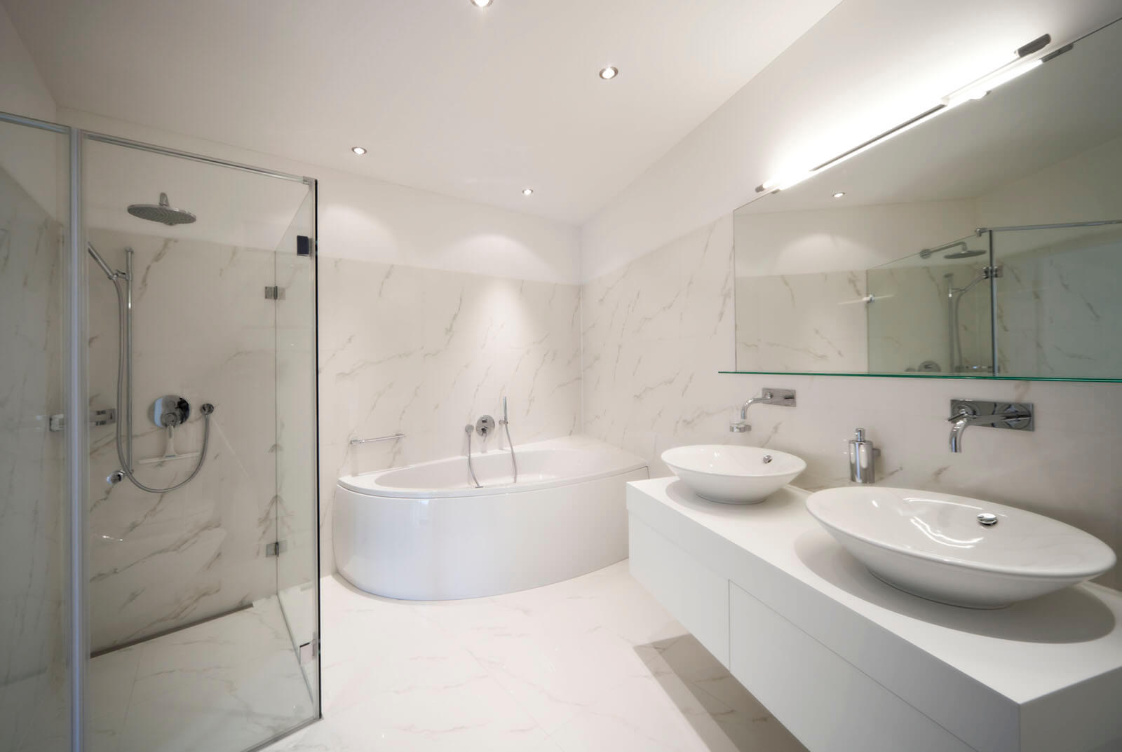Balencing the budget with bathroom building