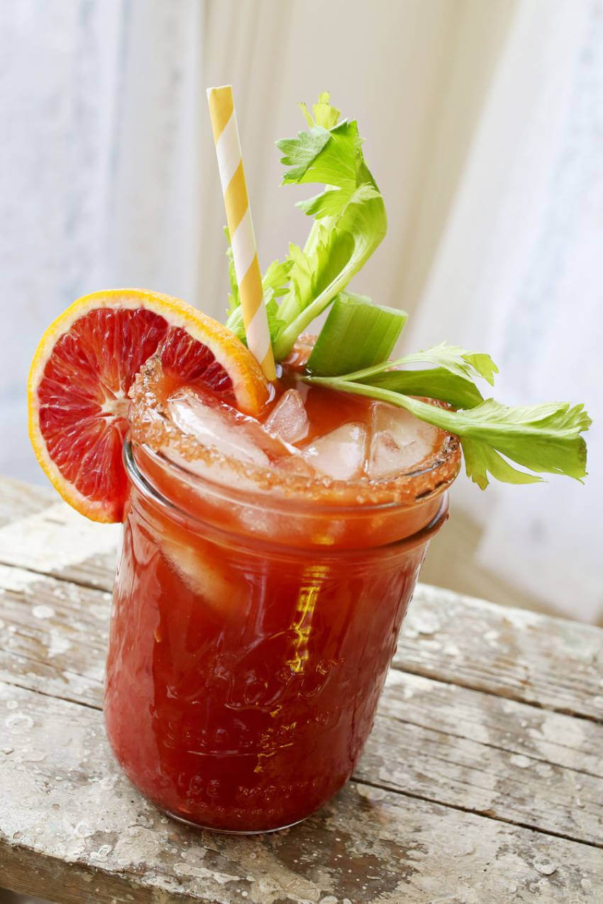 This bloody mary recipe is perfect for summer.