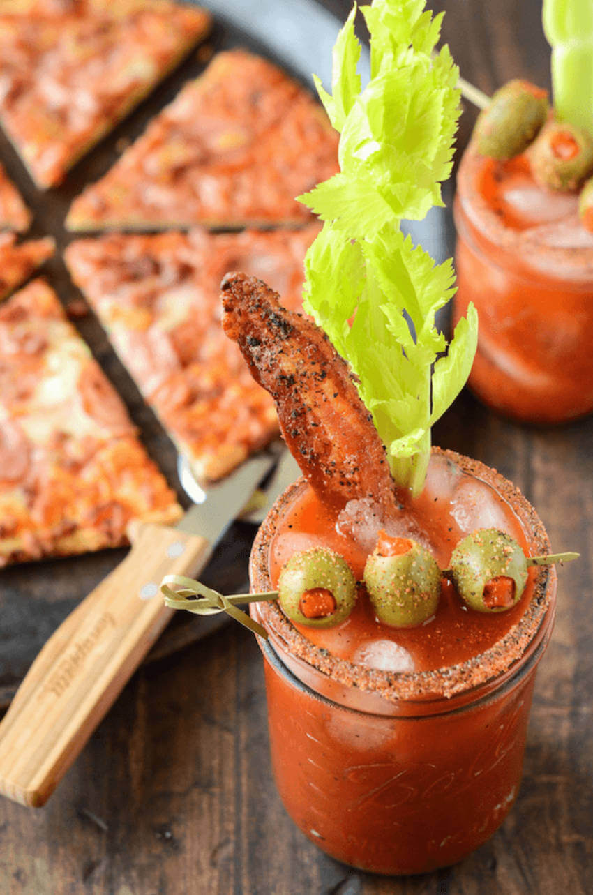 This is the perfect bloody mary drink!