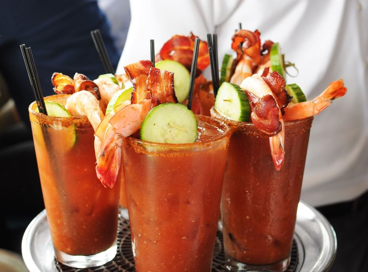 What's better than a drink? Food that comes with the drink!