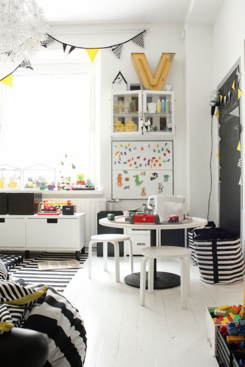 A playroom can be yours too.