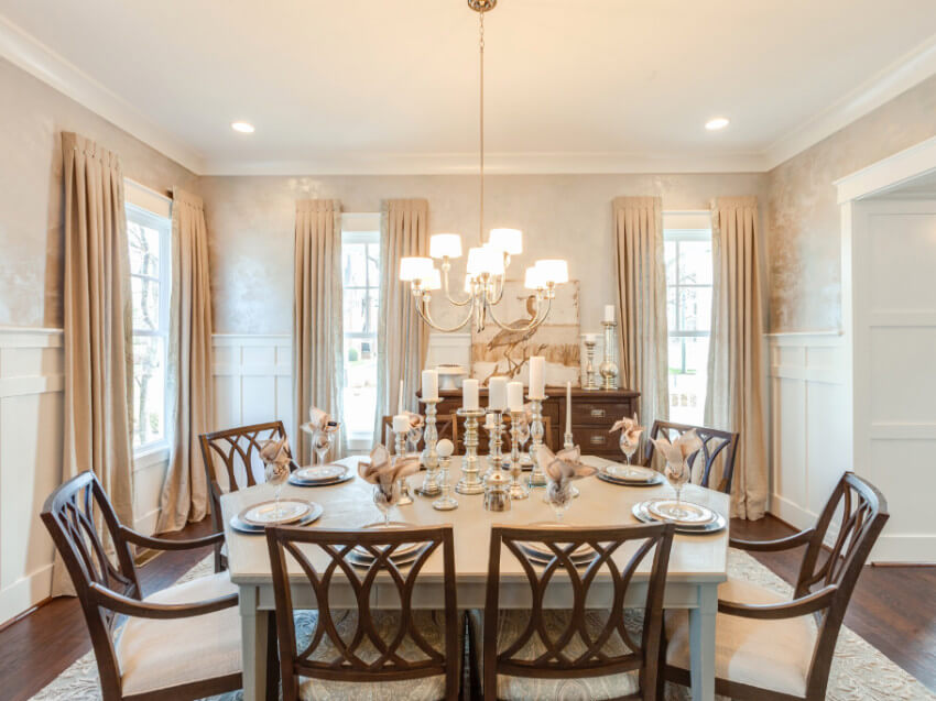 Get The Look For Less - Classic Dining Room
