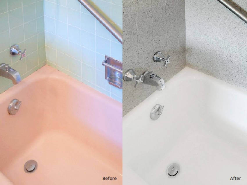 It's easy to DIY a bathtub refacing with paint, go for it!