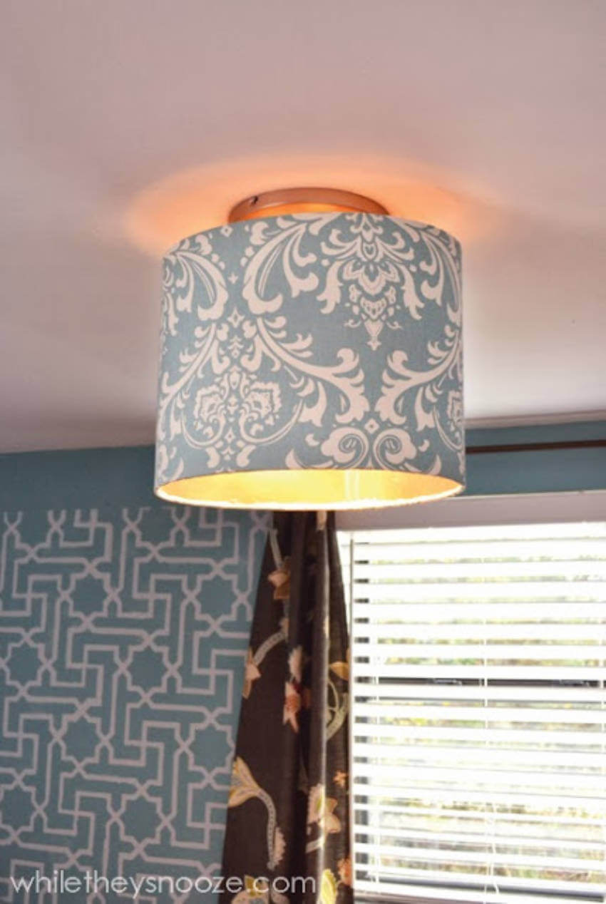 You can go bold, delicate, or neutral with your light fixture project!