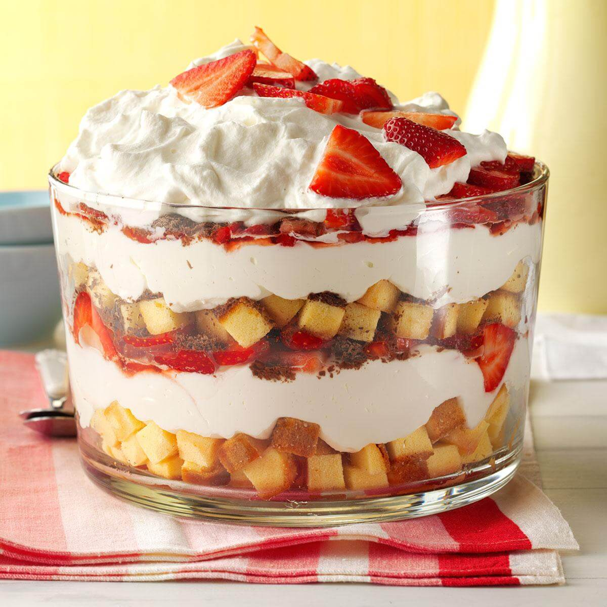 Layered goodness for dessert
