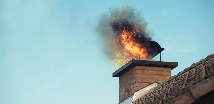 Dirty chimneys can easily cause a fire in your home.