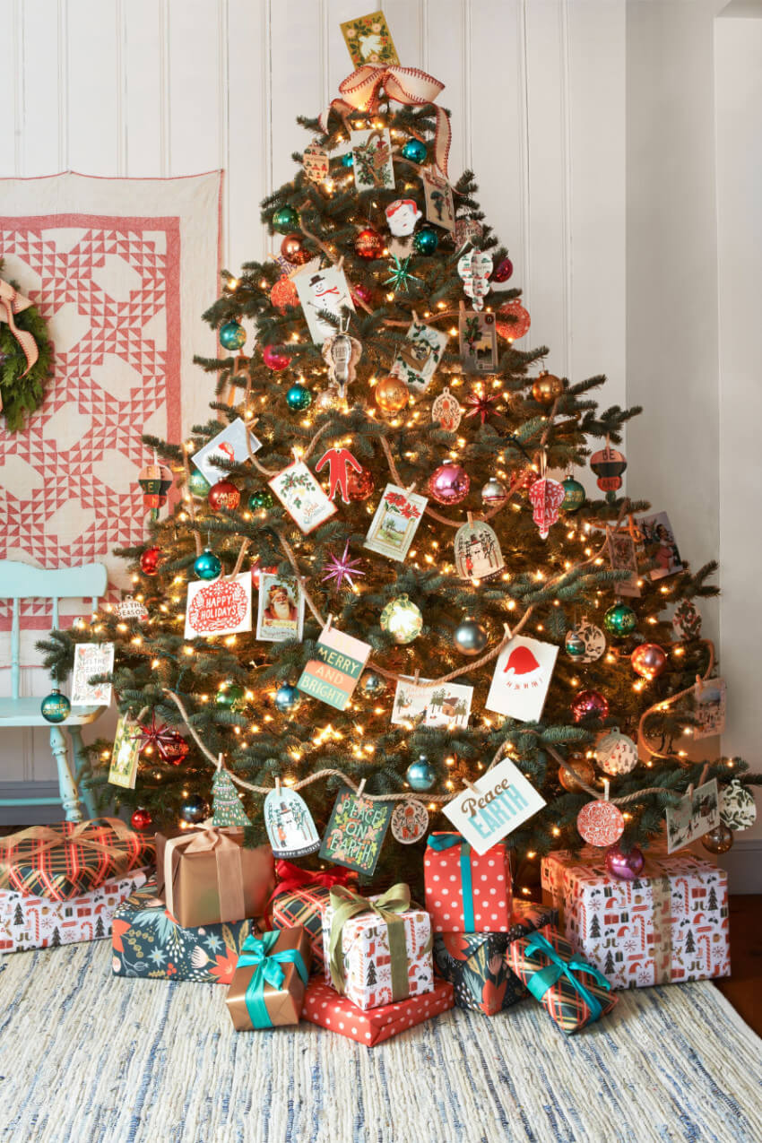 Don't know where to display those holiday cards?