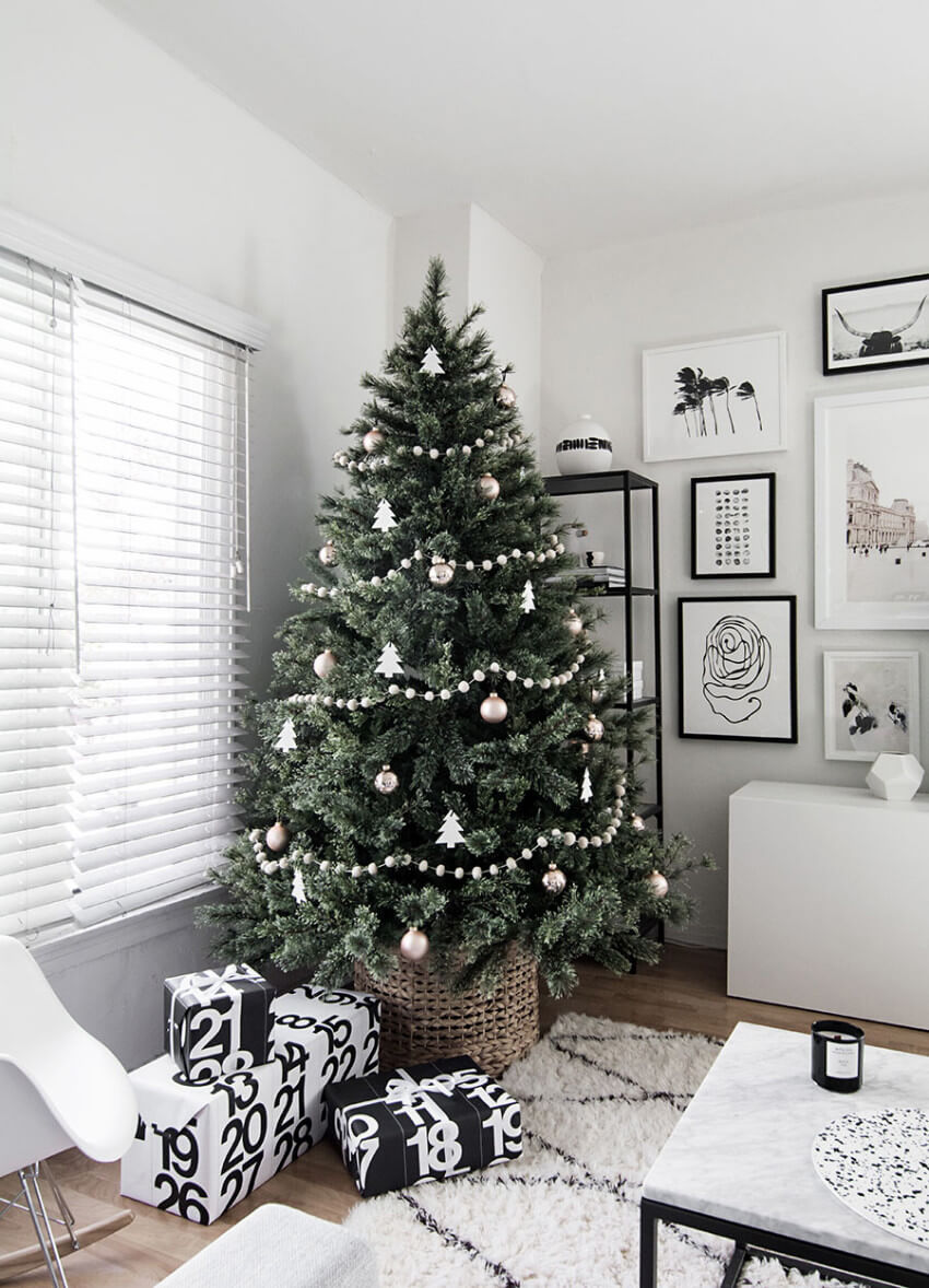 If you prefer a simpler decor, this is it!