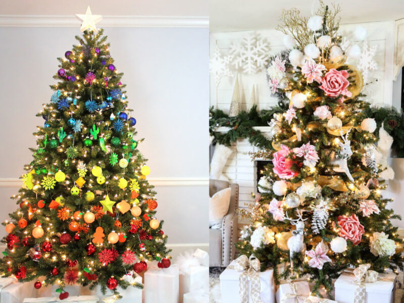 10 Creative Ways to Decorate Your Christmas Tree