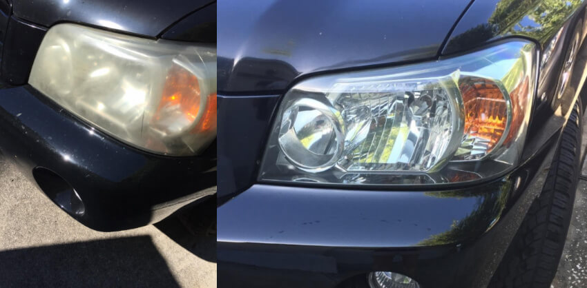 This restore wipe kit will let your headlights finally see clearly again