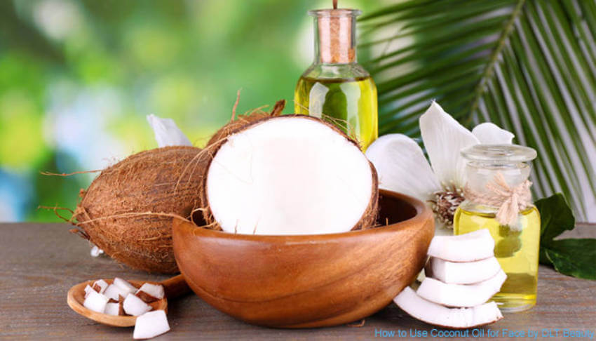 Restore and hydrate dry skin with coconut oil!