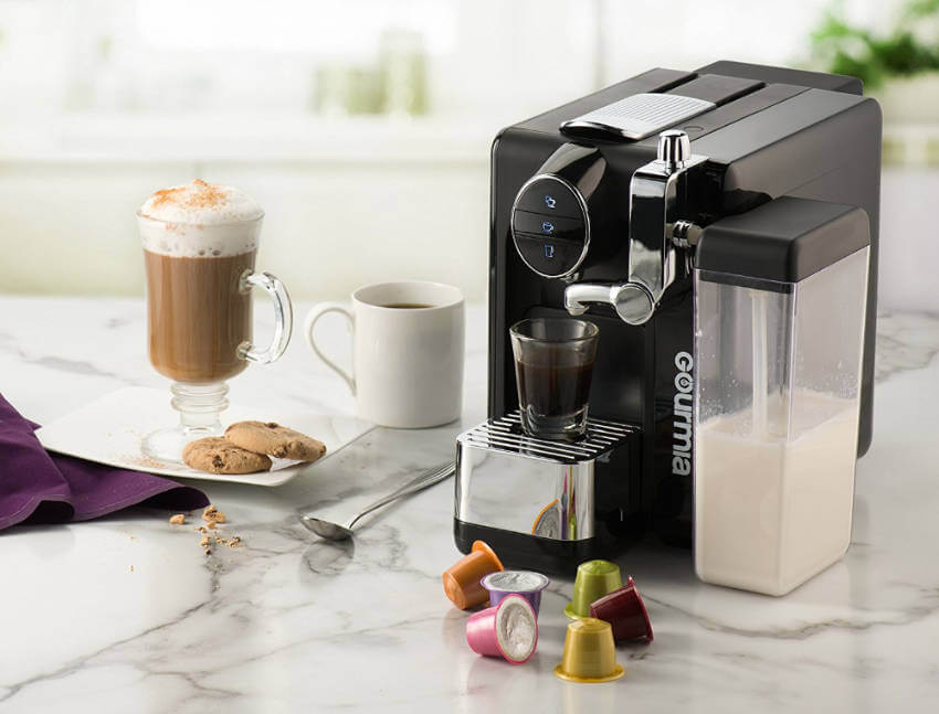 An espresso maker to get that morning kick right from your kitchen counter.
