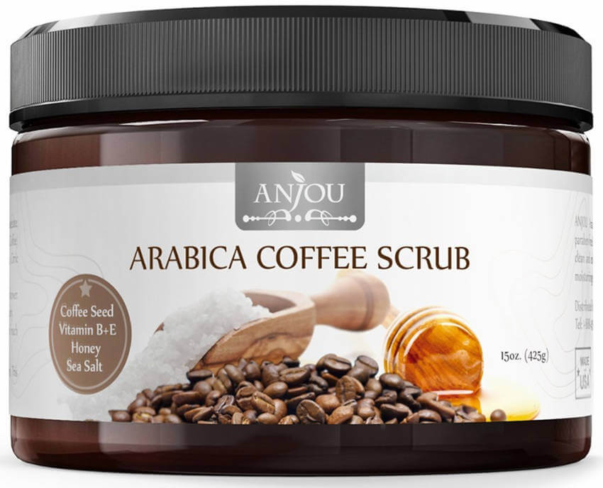 This exfoliating coffee scrub that'll leave your skin feel softer and help you feel invigorated