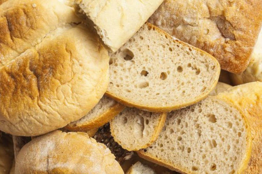 Make stale bread fresh again with a bit of water!