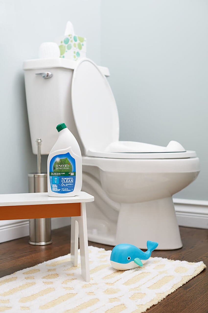 This toilet bowl cleaner will leave your throne squeaky clean.