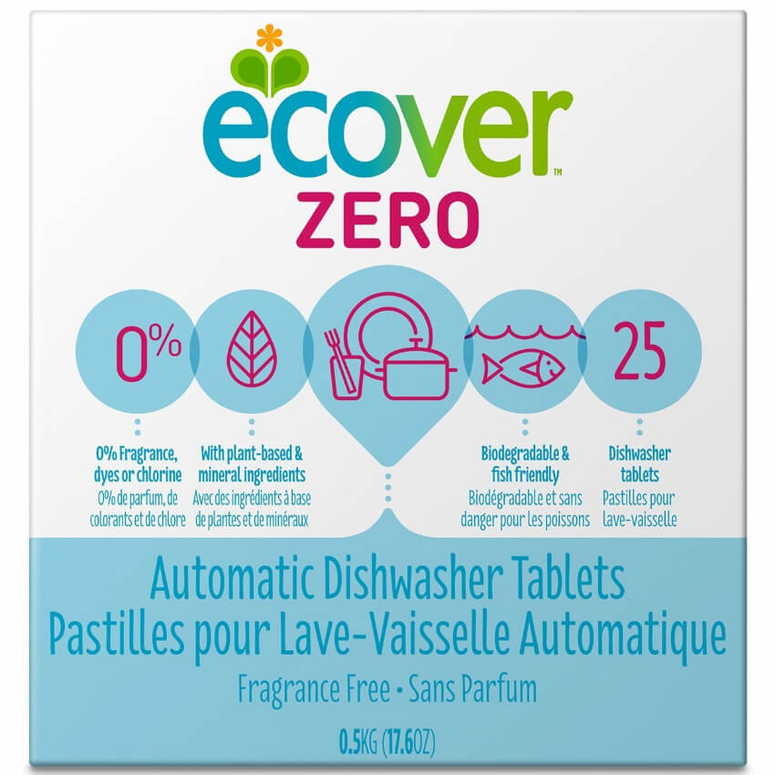 Some dishwasher tablets so your plates and bowls can have a clean and cruelty-free reflection.