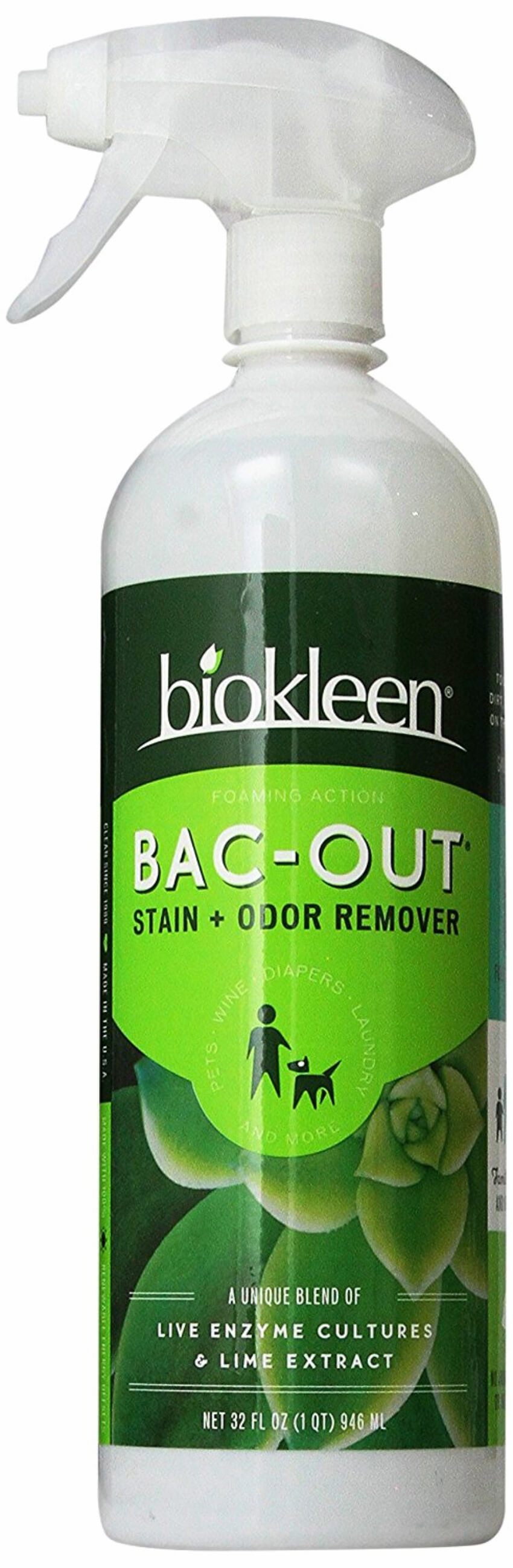 A stain and odor remover for when your pets leave their mark on the carpet.