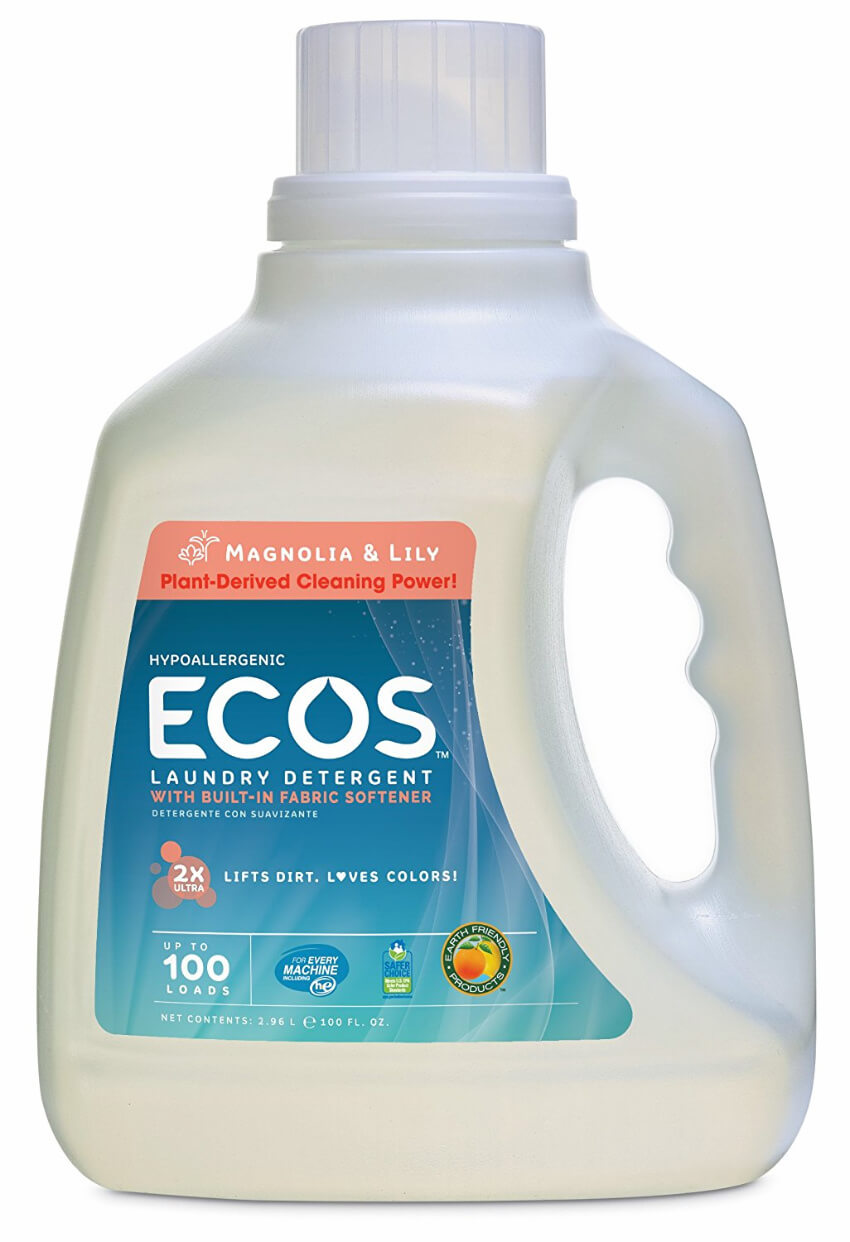This eco-friendly laundry detergent is tough on the dirt, but kind to your clothes