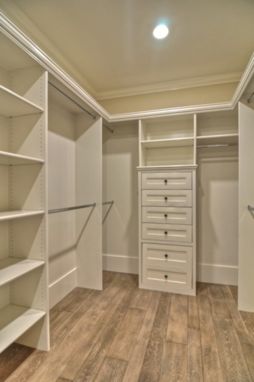 With a well-planned design, any closet can be amazing