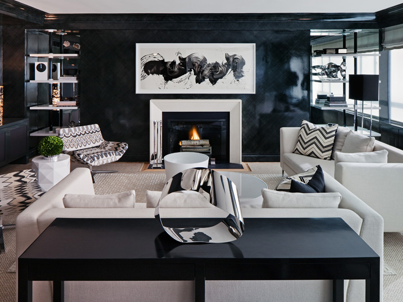 Make Your Room Elegant and Modern with Dark Colors