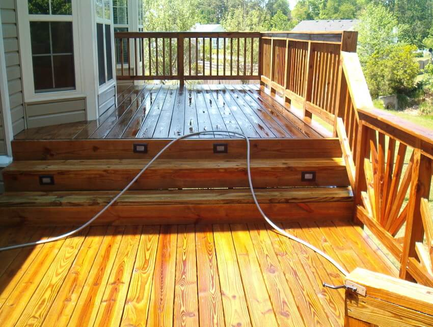 Power washing or pressure cleaning, the results are clear