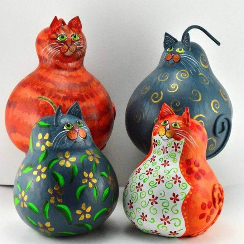 Give these gourd cats to cat-lovers and they'll go crazy over this!